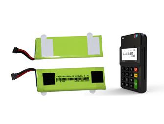 手(shou)機支付終端電池3.7V 450mAh