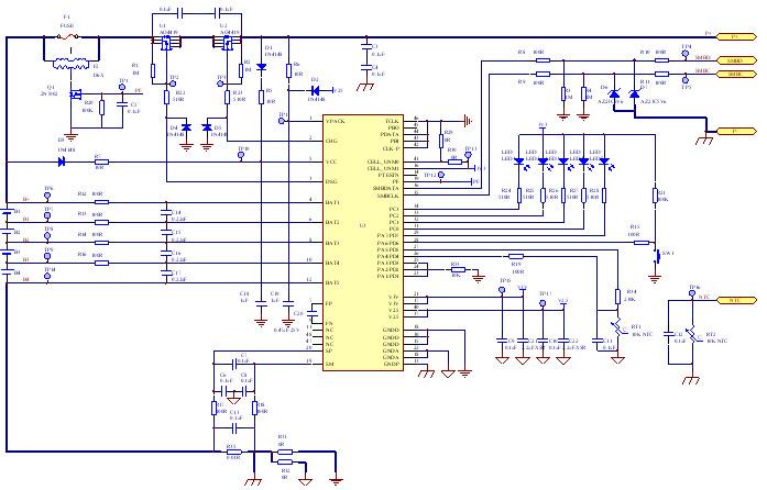 检测仪智能锂电池设计方案图片