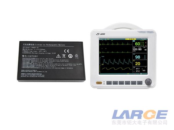 醫療監護(hu)儀(yi)鋰電池18650 11.1V 2200mAh
